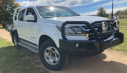 2018 Holden Colorado LS Cab Chassis Crew Cab