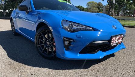 2018  Toyota 86 Gts Apollo Blue Coupe