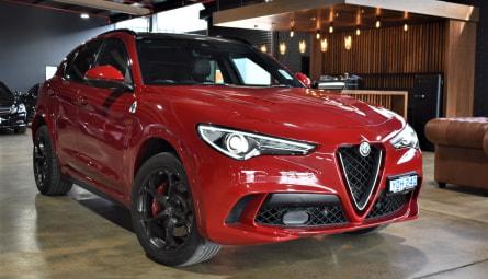 2018  Alfa Romeo Stelvio Quadrifoglio Wagon