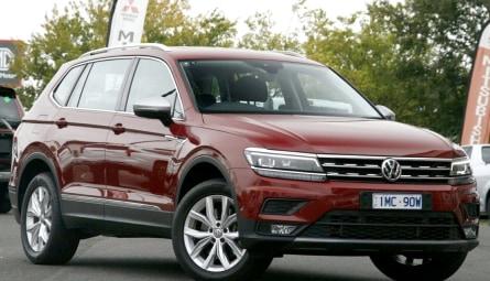 2018 Volkswagen Tiguan 132TSI Comfortline Allspace Wagon