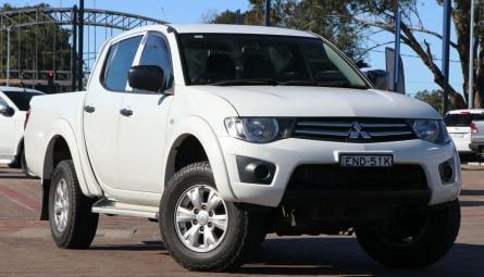 2014  Mitsubishi Triton Glx Utility Double Cab