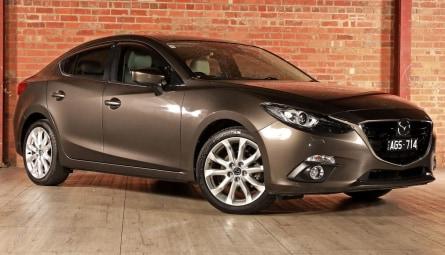 2015 Mazda 3 SP25 Astina Sedan