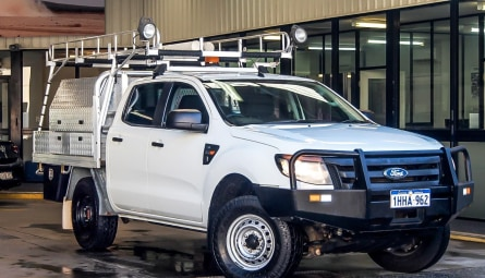 2014  Ford Ranger Xl Utility Double Cab