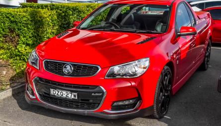 2015  Holden Ute Ss V Redline Ute Extended Cab
