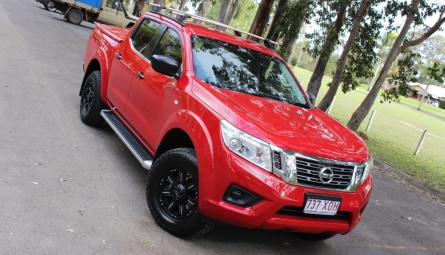 2017  Nissan Navara Sl Utility Dual Cab