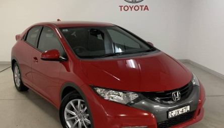 2012 Honda Civic VTi-S Hatchback