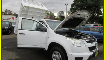 2012  HOLDEN COLORADO Dx Cab Chassis Single Cab