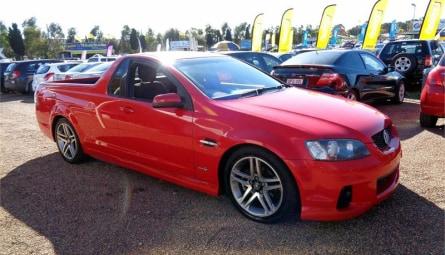 2010  Holden Ute Sv6 Utility Extended Cab