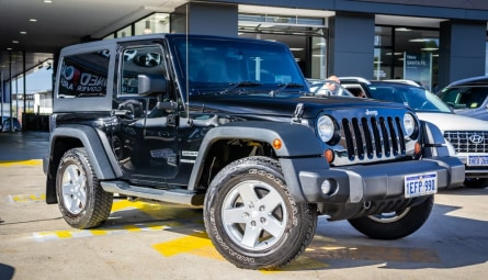 2013 Jeep Wrangler Sport Softtop
