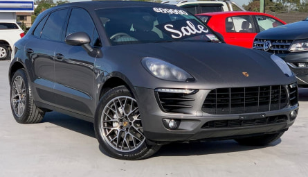 2015  Porsche Macan S Wagon