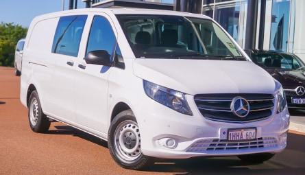 2021  Mercedes-Benz Vito 116cdi Van Crew Cab