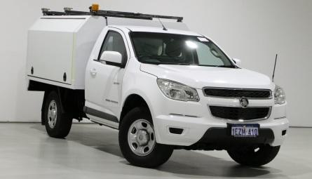 2013  Holden Colorado Lx Cab Chassis Single Cab