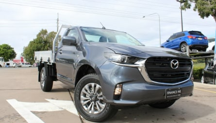2021 Mazda BT-50 XT Cab Chassis Single Cab