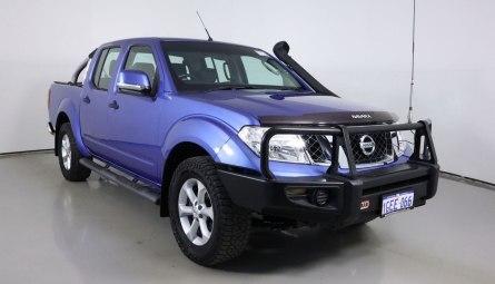 2012  Nissan Navara St Utility Dual Cab