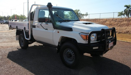2018  Toyota Landcruiser Workmate Cab Chassis Single Cab