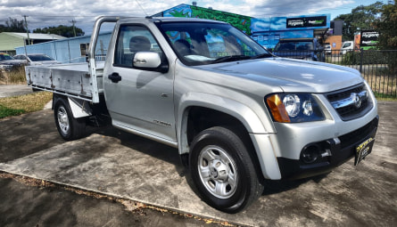 2010  Holden Colorado Lx Cab Chassis Single Cab