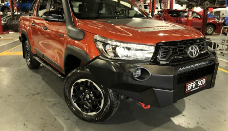 2019  Toyota Hilux Rugged X Utility Double Cab