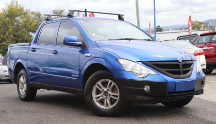 2010 SsangYong Actyon Sports Sports Utility Dual Cab