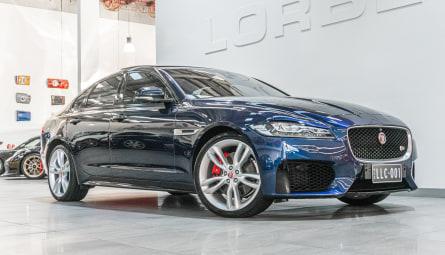 2017  Jaguar XF 30d S Sedan