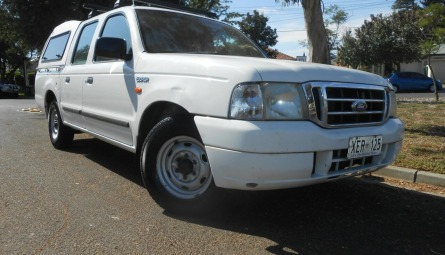 2004  Ford Courier Gl Utility Crew Cab