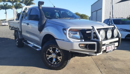 2013  Ford Ranger Xl Cab Chassis Super Cab