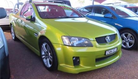 2007  Holden Ute Sv6 Utility Extended Cab