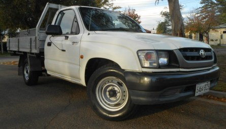 2004  Toyota Hilux Workmate Cab Chassis Single Cab