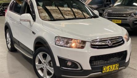 2015  Holden Captiva Ltz Wagon