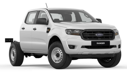 2021  Ford Ranger Xl Hi-rider Cab Chassis Double Cab