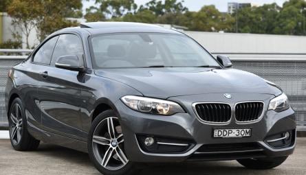 2015 BMW 2 Series 220i Sport Line Coupe