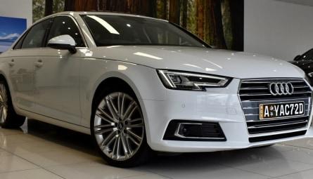 2017  Audi A4 Sport Sedan