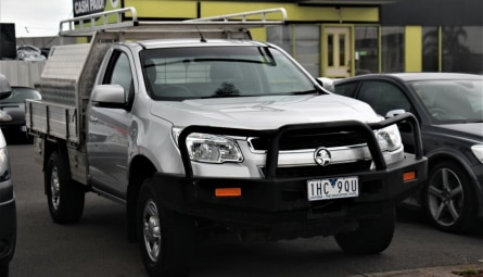 2016  Holden Colorado Ls Cab Chassis Single Cab