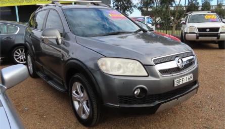 2008  Holden Captiva Lx Wagon