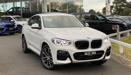 2021 BMW X4 xDrive30i M Sport Coupe