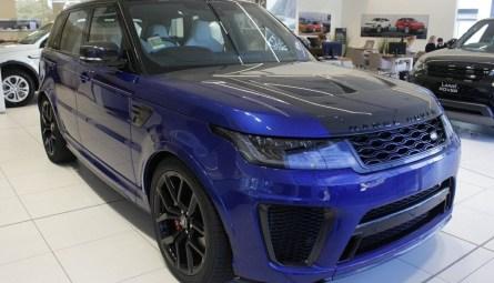 2021  Land Rover Range Rover Sport V8sc Svr Carbon Edition Wagon