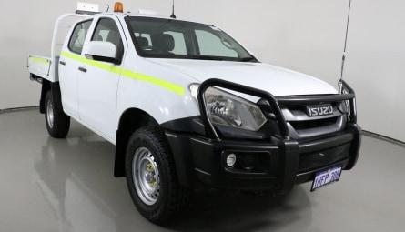 2017  Isuzu D-MAX Sx Cab Chassis Crew Cab