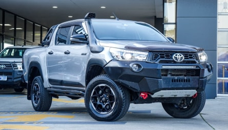 2018  Toyota Hilux Rugged X Utility Double Cab