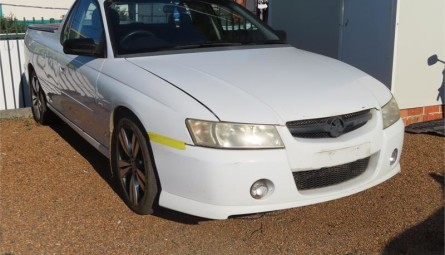 2007  Holden UteUtility Extended Cab
