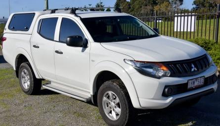 2016  Mitsubishi Triton Glx+ Utility Double Cab