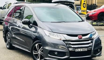 2015 Honda Odyssey VTi-L Wagon