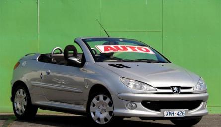 2007 Peugeot 206 CC Cabriolet