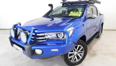 2016 Toyota Hilux SR5 Utility Double Cab