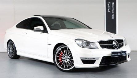 2012  Mercedes-Benz C-Class C63 Amg Performance Package Coupe