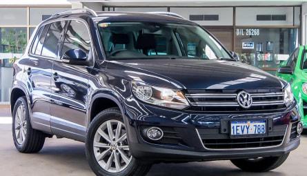 2015  Volkswagen Tiguan 132tsi Wagon