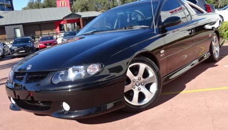 2001 Holden Ute Fifty SS Utility Extended Cab