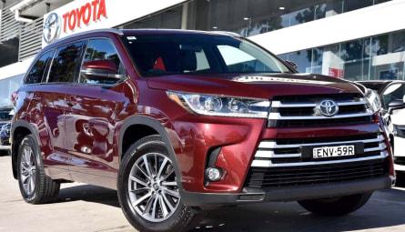 2017  Toyota Kluger Gxl Wagon