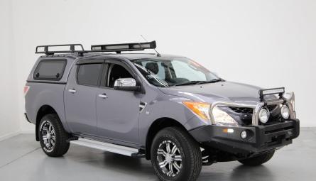 2014 Mazda BT-50 XTR Hi-Rider Utility Dual Cab