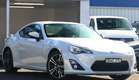 2012  Toyota 86 Gts Coupe