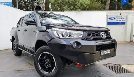 2018  Toyota Hilux Rugged Utility Double Cab