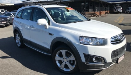 2015  Holden Captiva Ltz Wagon